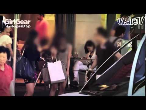 Thiếu gia Hàn dùng Lamborghini đi cua gái và cái kết bất ngờ