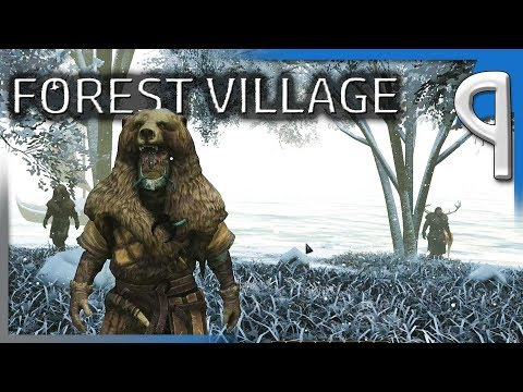 WINTER RAIDERS AND LARGE HOUSES! | Life is Feudal: Forest Village Let's Play/Gameplay S2E9