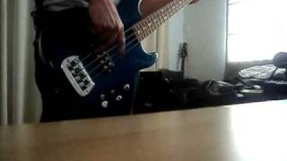 my friend goo - sonic youth  bass cover + wtf