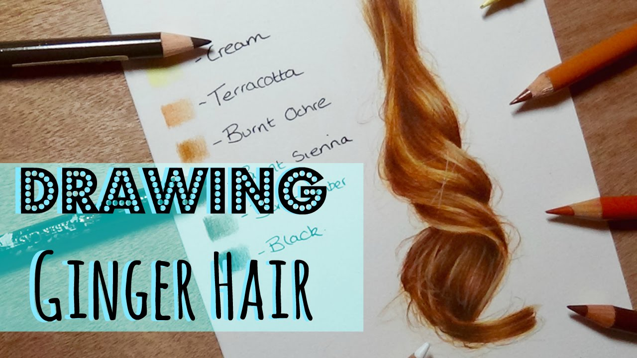 drawing tutorial realistic ginger