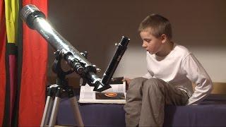 Clixkids: Mein Blick durchs Teleskop