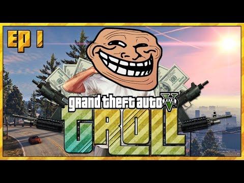LO SCHERZO DEI SOLDI FACILI | EPICO | GTA 5 Online : TROLL [ ITA ] - Ep. 1