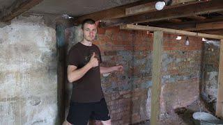 Стройка Мастерской Мечты - ремонтируем заднюю стену нового гаража !