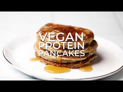 Gluten Free Vegan Protein Pancakes (Sugar Free Option)