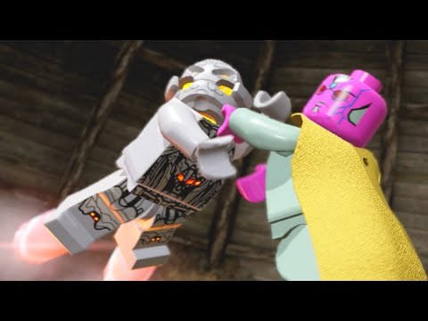 Lego Marvels Avengers Ultron Defeat The Final Boss, THE END