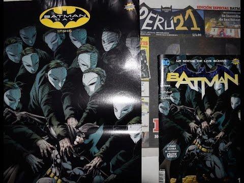 Batman #8 Comics 21| Batman Day Peru