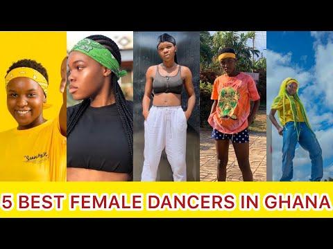 TOP 5 BEST FEMALE DANCERS IN GHANA|| FEATURING AFRONITAAA, LISAQUAMA, LIYADANCES🇬🇭🔥