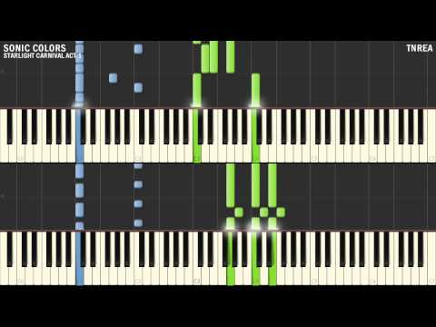 Sonic Colors - Starlight Carnival Act 1 | Awesome For Piano