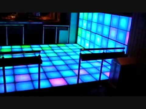 Riselighting RGB LED Disco Dance Floor YouTube - How to make a lighted dance floor