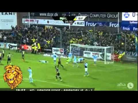Jose Ariel Nunez Goal ~ Soenderjyske vs Broendby IF 0-1 ~ 12.04.2015