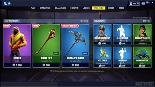 NEW*Doggo Skin & Chew Toy Pickaxe! Fortnite Item Shop May 26, 2019