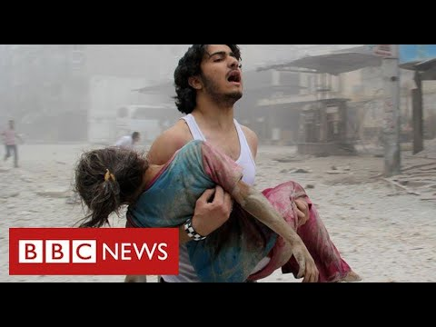 Ten years of terrible suffering as Syria's civil war grinds on - BBC News
