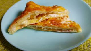 очень вкусная Быстрая ачма или сырный пирог