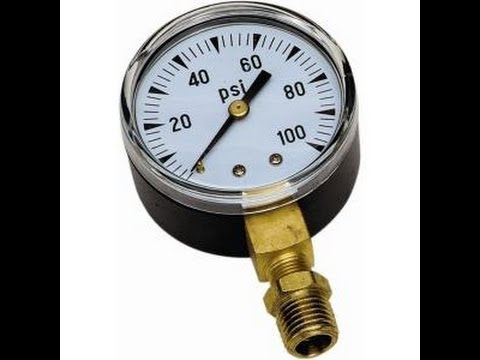 How To Check Swimming Pool PSI Gauge