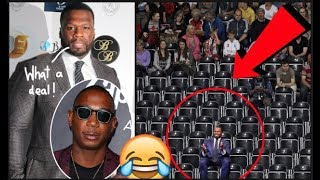 50 Cent Buys 200 Front Row Seats To Ja Rule Concert Just To Make It Empty