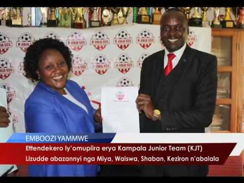 Ettendekero ly'omupiira erya Kampala Junior Team (KJT)