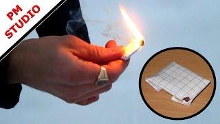 Как сделать самую простую петарду - 2(Очень простая модель, зажигается о спичечный коробок. Элемент№1 http://www.youtube.com/watch?v=4iVz_Yn6n6k., 2014-11-03T09:17:00.000Z)