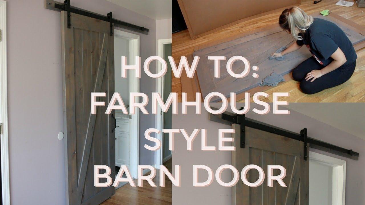 How to diy sliding barn door indoor barn doors master bathroom remodel sneak peek