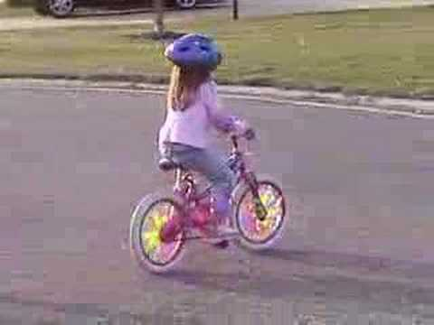 riding a bike for the first time