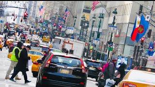 NEW YORK CITY 2019: WALKING TOUR AROUND MANHATTAN! [4K]