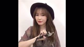여행지 페도라 헤어 스타일링by#문유정 헤어드레서 패션…