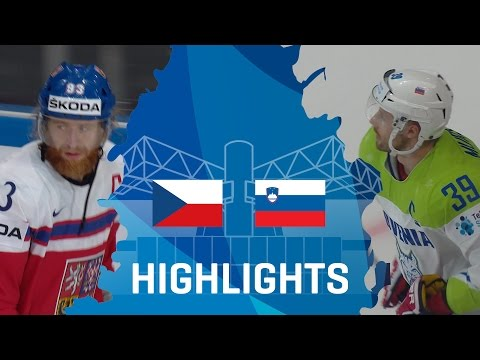 Czech Republic - Slovenia | Highlights | #IIHFWorlds 2017