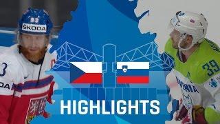 Czech Republic - Slovenia | Highlights | #IIHFWorlds 2017