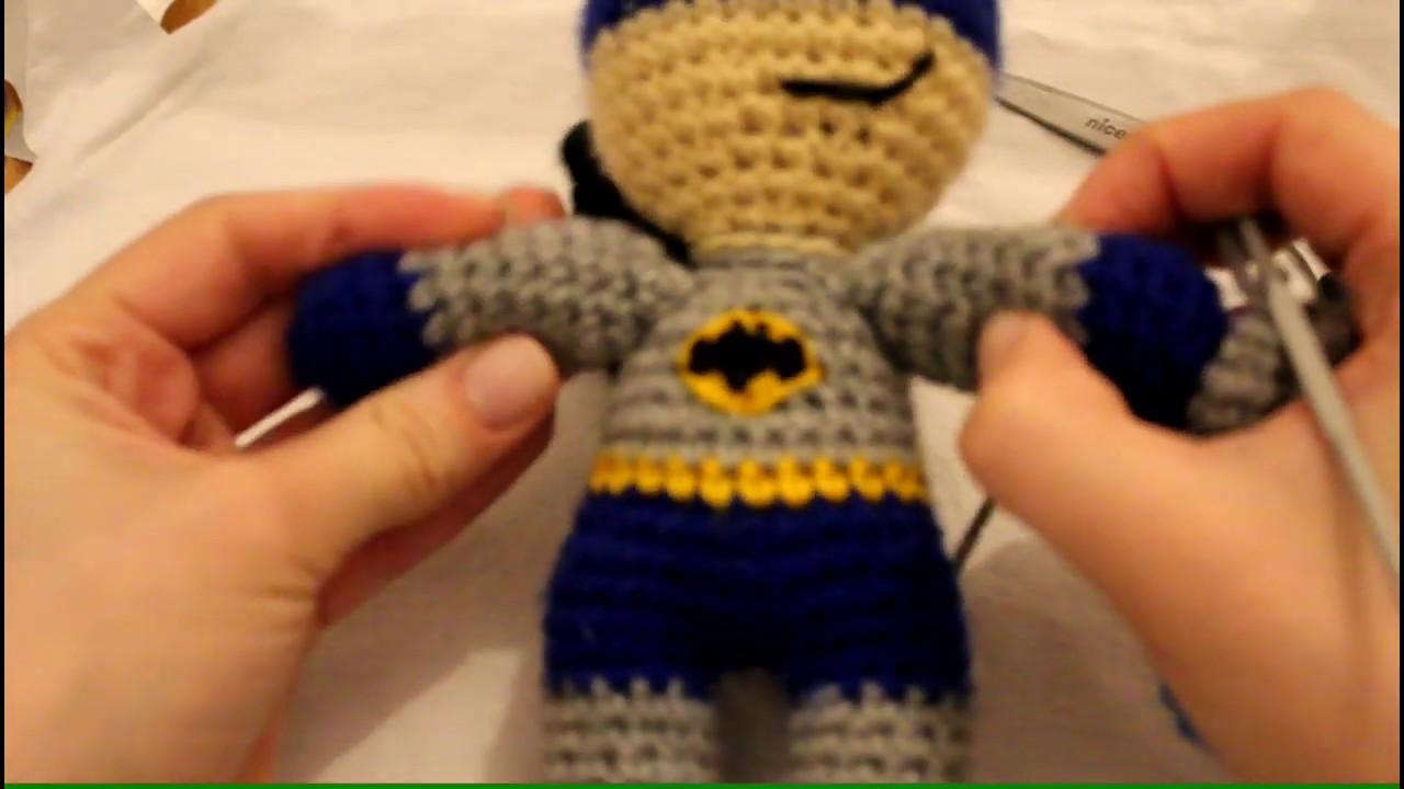 Batman Amigurumi crochet pattern. Batman doll printable pattern ... | 720x1280