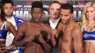 Sergey Lipinets vs. Leonardo Zappavigna / Erickson Lubin vs. Juan Ubaldo Cabrera weigh in video
