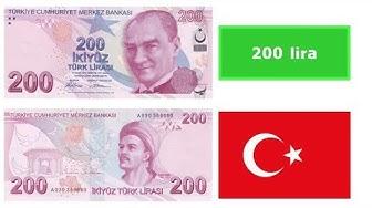 Turkish lira (TRY)