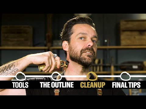 How to Shape Up Your Beard (4 Step Tutorial) | GQ