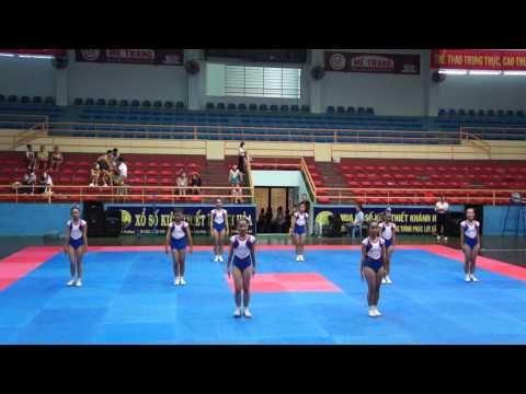 Bài thi aerobic của trường THCS Phan chu trinh Diên Khánh- HKPĐ Khánh hòa 2012