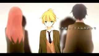 Вокалоиды  Vocaloids Kagamine Rin & Len  Кагамине Рин и Лен   orange