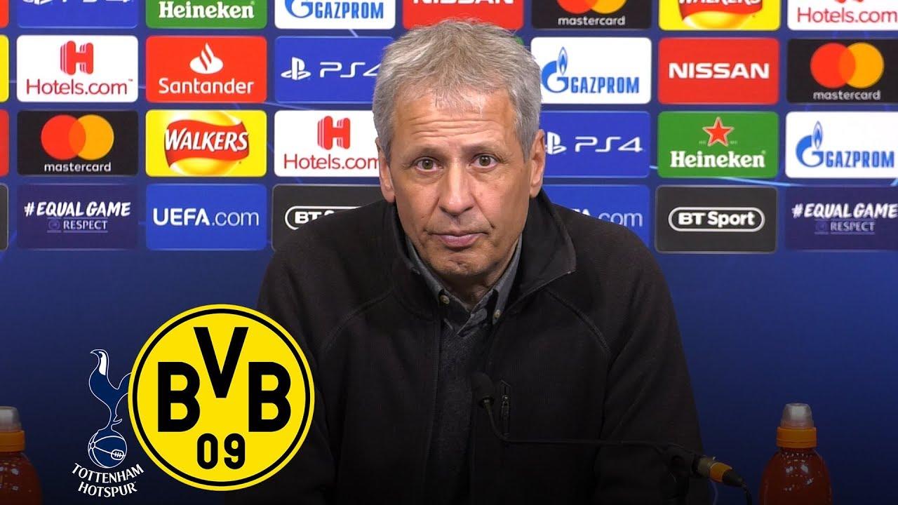 0:3 in Wembley verloren | PK mit Lucien Favre | Tottenham Hotspur - Borussia Dortmund