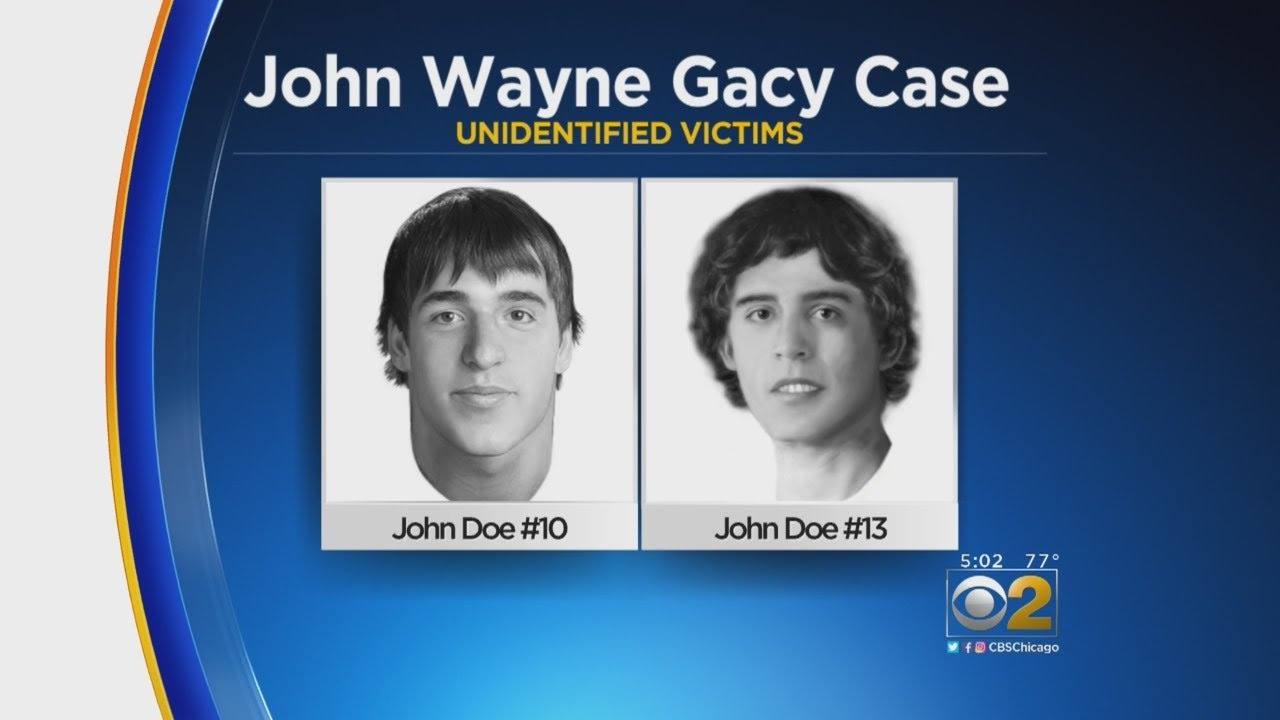 New Images Of Unidentified John Wayne Gacy Victims Released