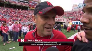 Mike Riley Is Ready for Spring Ball 4/15/17