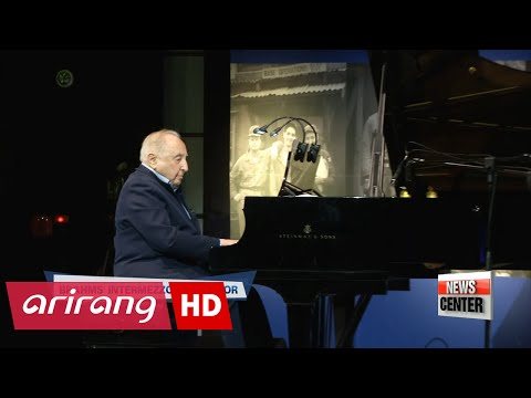Pianist Seymour Bernstein plays concert in Seoul for fellow Korean War veterans