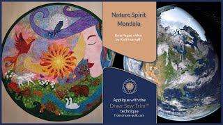 How it was made - Nature Spirit Mandala (DST / Time-lapse)