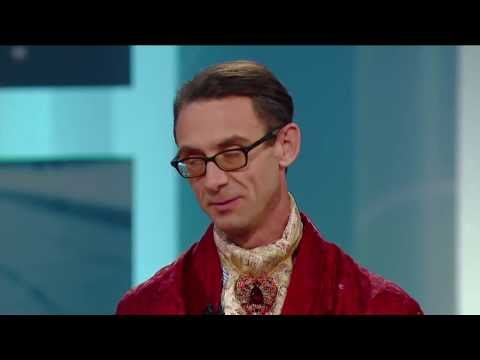 Chuck Palahniuk on George Stroumboulopoulos Tonight: INTERVIEW