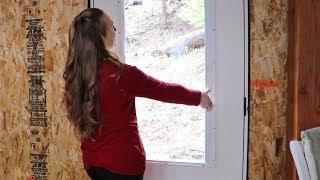 She Waited ONE YEAR For HER DREAM DOOR! (Mudroom Door Install)