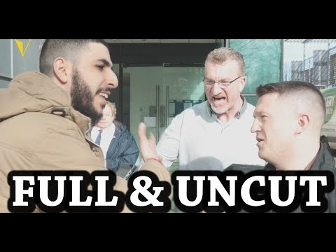 ALI DAWAH CONFRONTS TOMMY ROBINSON - FULL UNCUT VERSION