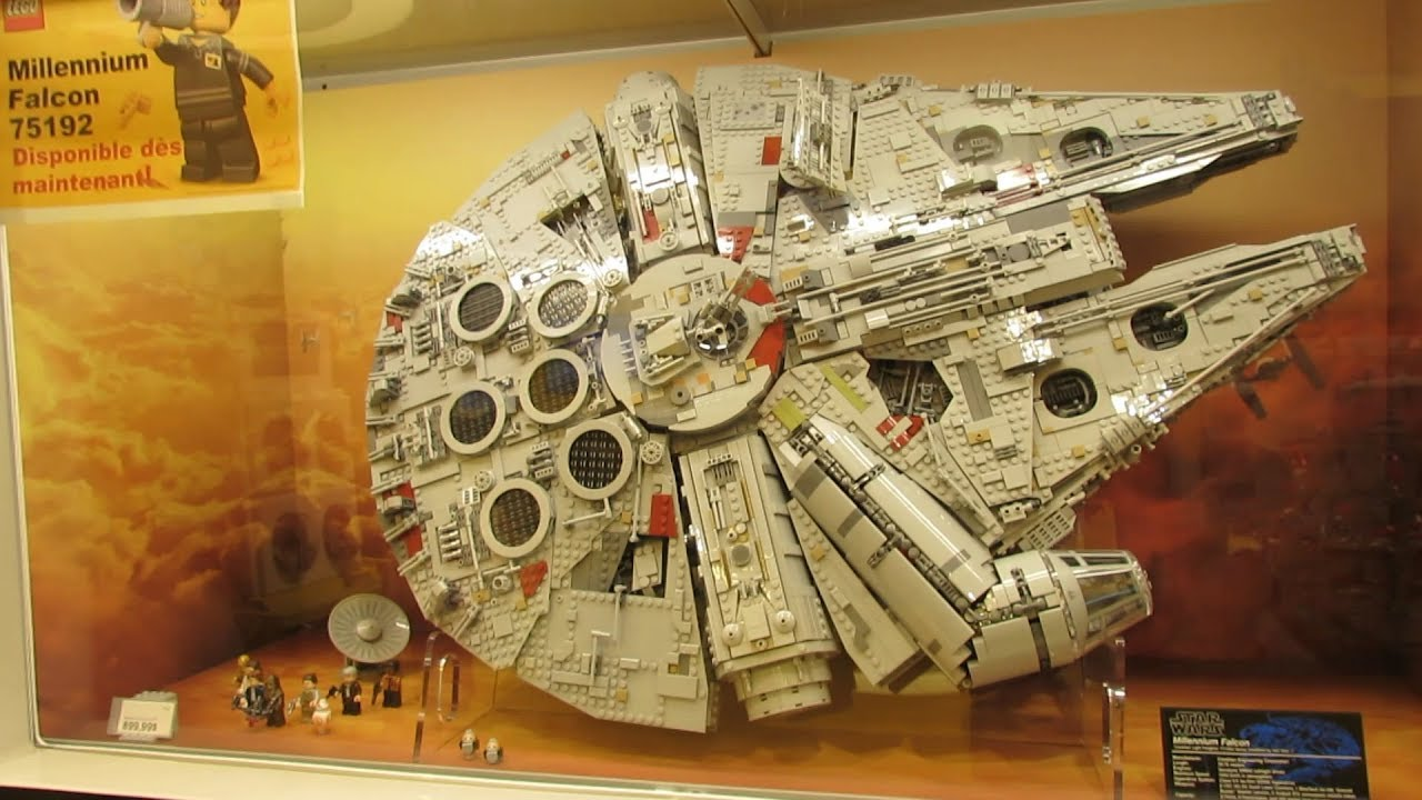 Extreme Lego Store In Montreal Canada Youtube