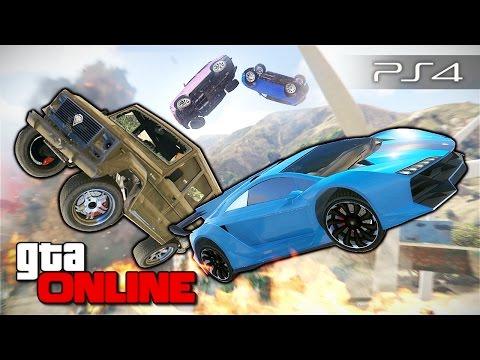 GTA 5 Online PS4 - Вентиляторы смерти 99