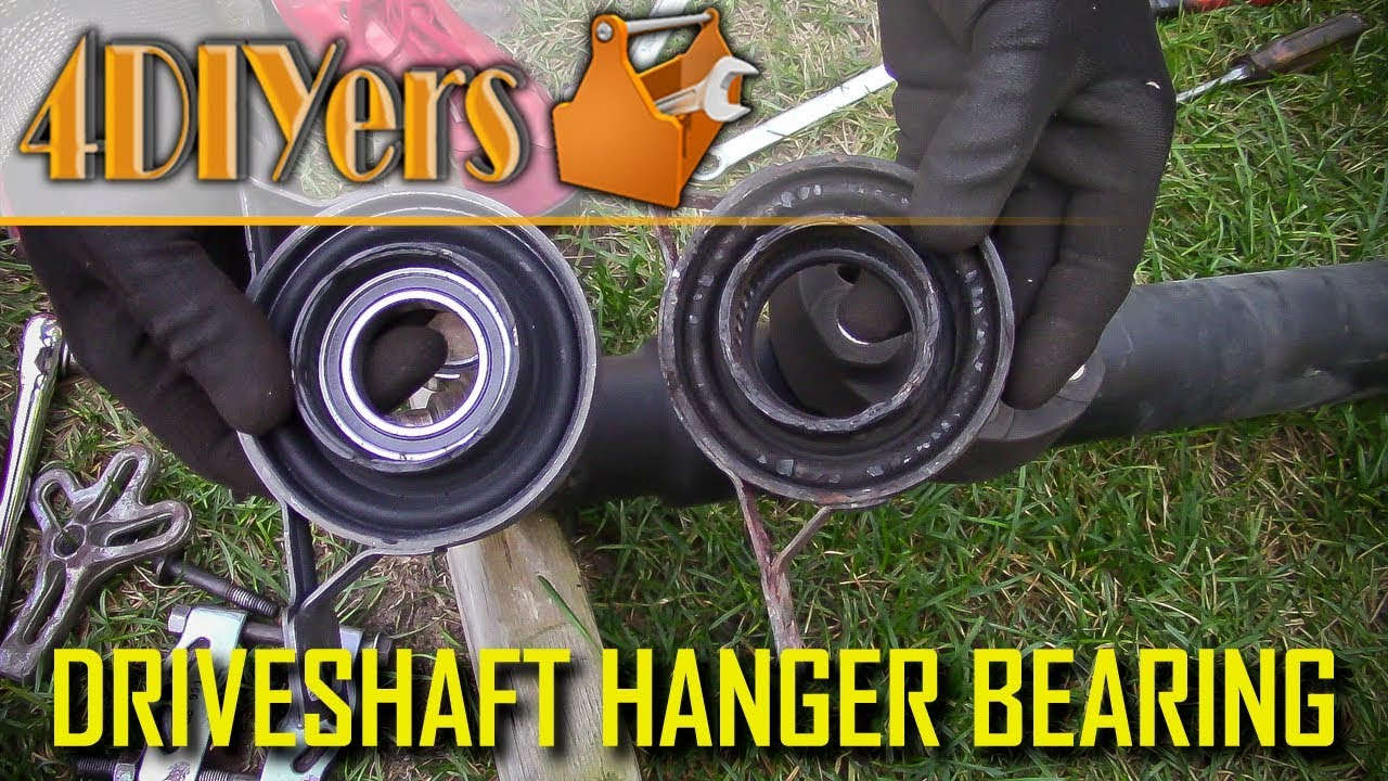 How to Diagnose a Faulty Driveshaft Center Support Bearing  YouTube
