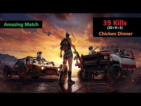 "[Hindi] PUBG Mobile | ""30 Kills"" Amazing Match With Chicken Dinner"
