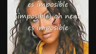 Christina Aguilera ft Alicia Keys- Impossible  traducida al español