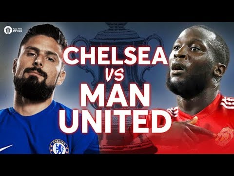 Chelsea vs Manchester United LIVE FA CUP FINAL PREVIEW!