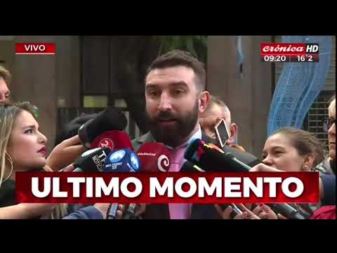 Fabbro llegó a Tribunales: Habló Francisco Oneto, su abogado