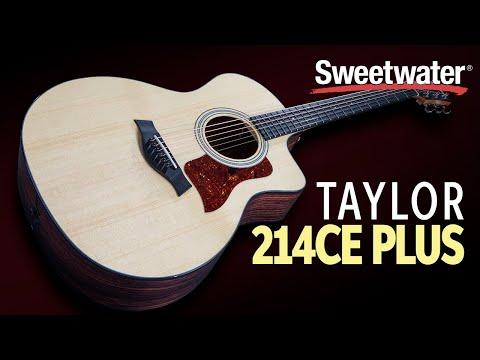 Taylor 214ce Plus Acoustic-electric Guitar Demo