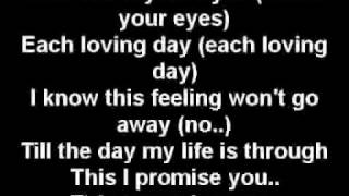 This I promise you - nsync  (lyrics)